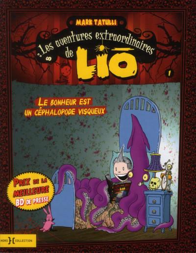 Couverture les aventures extraordinaires de Lio tome 1