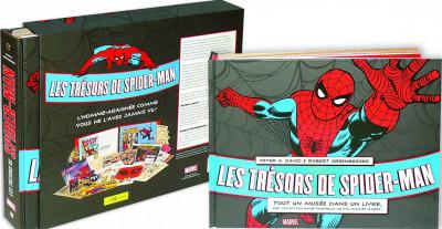 Couverture Les trésors de Spiderman - coffret