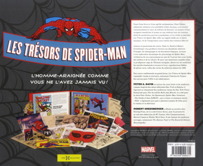 Dos Les trésors de Spiderman - coffret