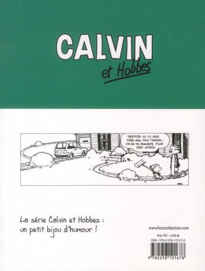 Dos Calvin et Hobbes T.18 - gare au psychopathe à rayures !