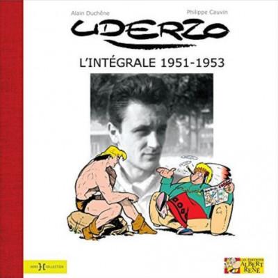 Couverture L'Intégrale Uderzo 1951-1953