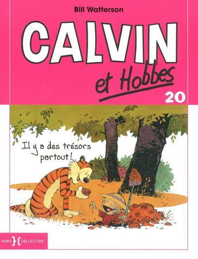 Couverture Calvin et hobbes - tome 20 - il y a des trésors partout !