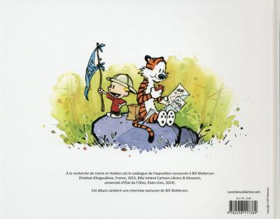 Dos À la recherche de Calvin et Hobbes