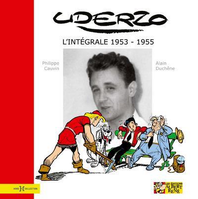 Couverture L'intégrale Uderzo - 1953-1955