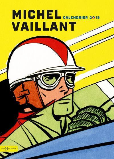 Couverture Calendrier Michel Vaillant 2019