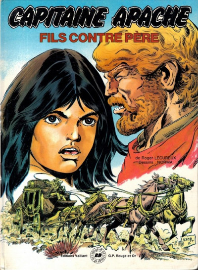 Couverture Capitaine Apache tome 3