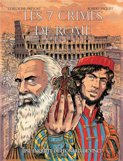 Couverture Les sept crimes de Rome