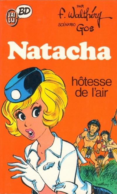 Couverture Natacha - poche tome 1 - hôtesse de l'air