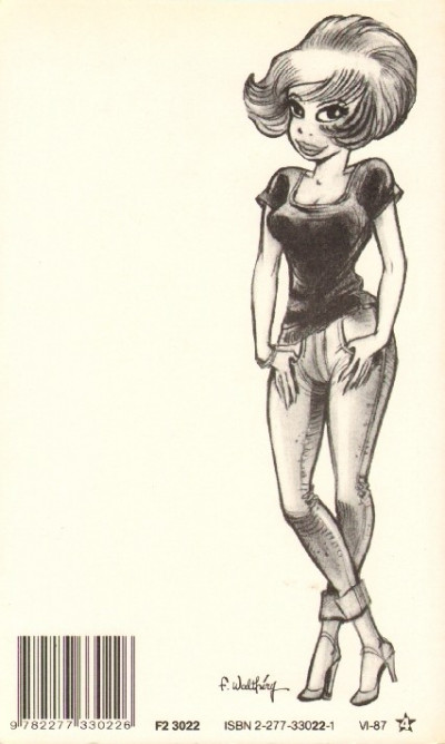 Dos Natacha - poche tome 1 - hôtesse de l'air