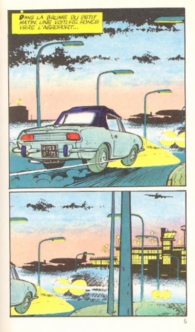 Page 1 Natacha - poche tome 1 - hôtesse de l'air