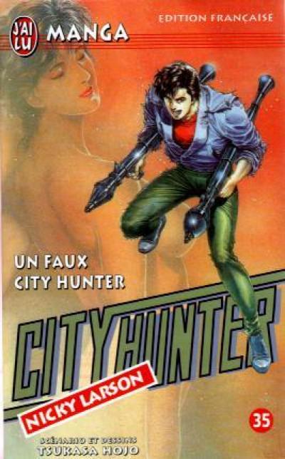 Couverture City hunter tome 35 - un faux pour city hunter