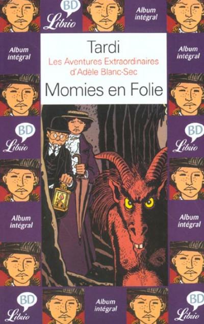 Couverture Adèle Blanc-Sec - poche tome 4 - momies en folie