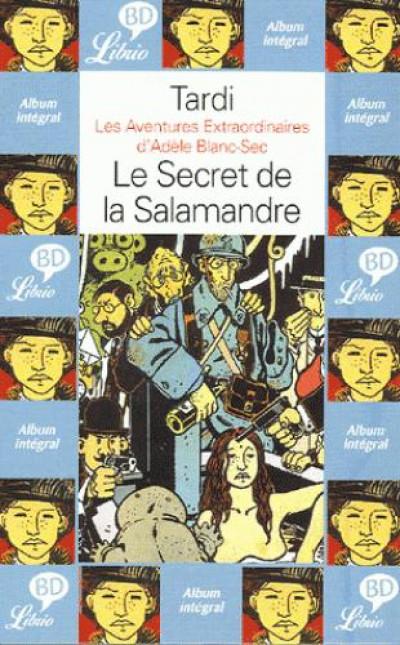 Couverture Adèle blanc-sec - poche tome 5 - le secret de la salamandre
