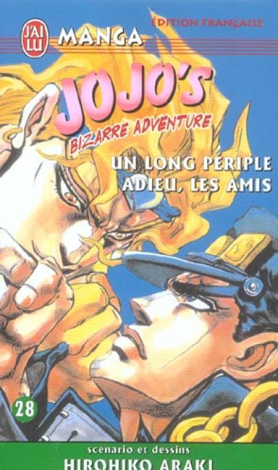 Couverture Jojo's bizarre adventure tome 28 - un long périple adieu, les amis