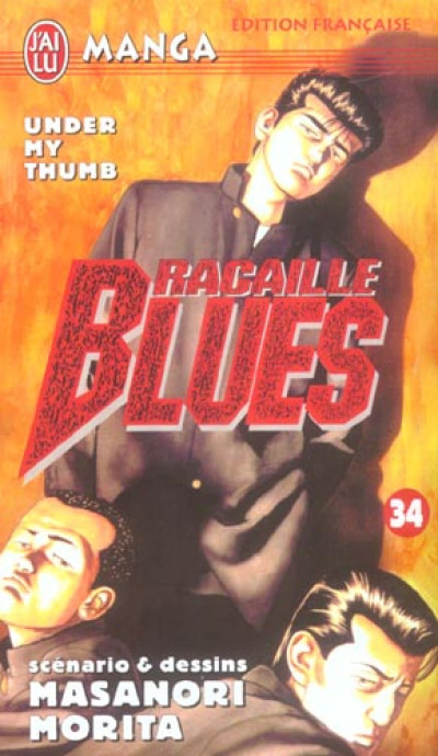 Couverture Racaille blues tome 34