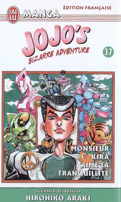Couverture Jojo's bizarre adventure tome 37 - monsieur kira aime la tranquillité