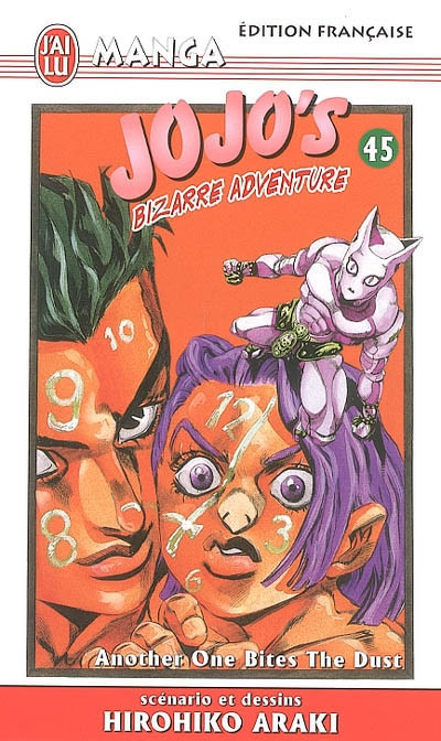 Couverture Jojo's bizarre adventure tome 45 - another one bites the dust