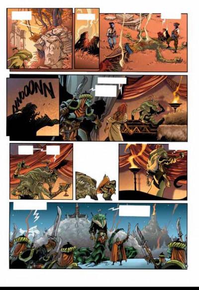 Page 2 les naufragés d'ythaq tome 5 - l'ultime arcane