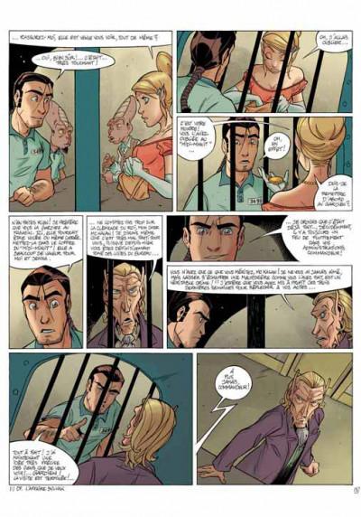Page 2 les arcanes du midi-minuit tome 6 - l'affaire du détenu 3491