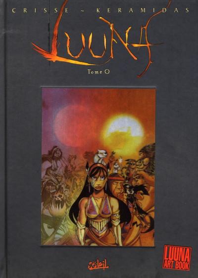 image de luuna ; art book