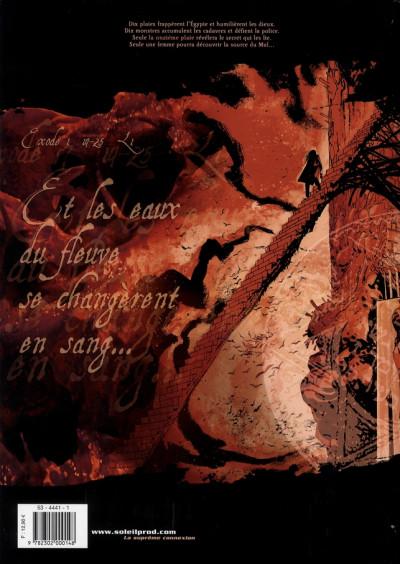 Dos la onzième plaie tome 1 - et les eaux du fleuve se changèrent en sang