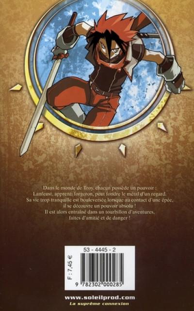 Dos lanfeust quest tome 1