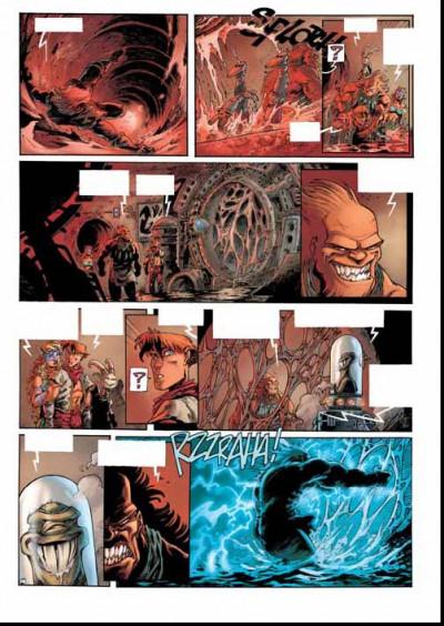 Page 2 lanfeust des étoiles tome 7 - le secret des dolphantes