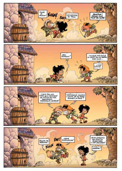 Page 2 gnomes de troy tome 1