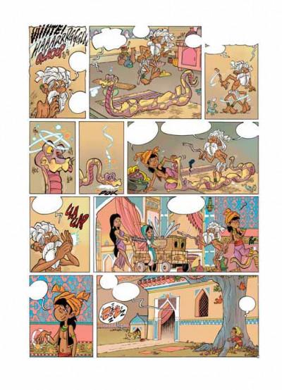 Page 1 tandori tome 1 - le réveil de l'éléphant bleu