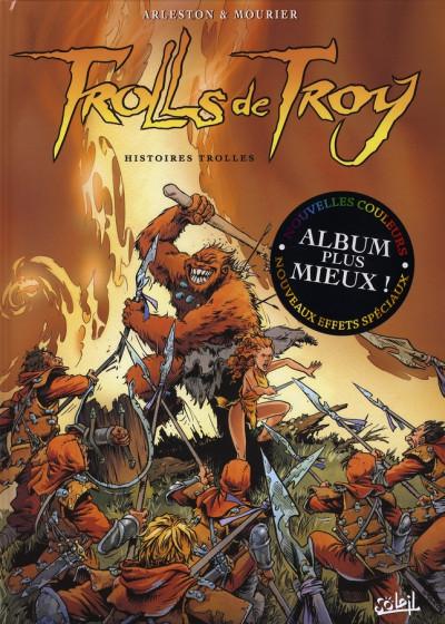 Couverture trolls de troy tome 1 - histoires trolles
