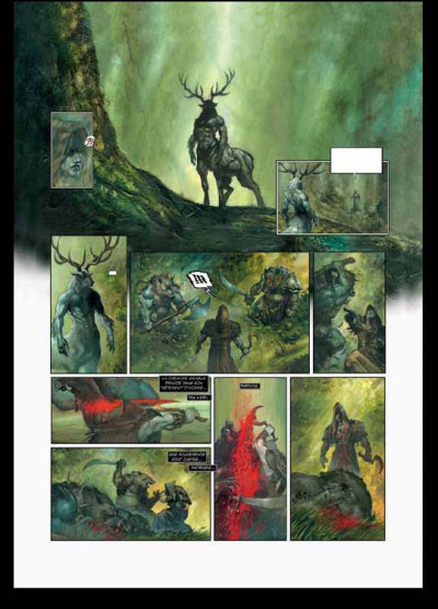 Page 4 arawn tome 1 - bran le maudit