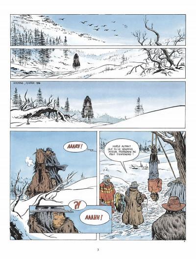 Page 4 durango tome 1 - les chiens meurent en hiver