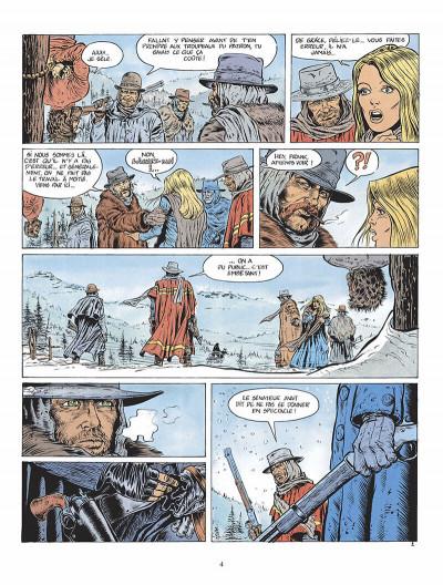 Page 5 durango tome 1 - les chiens meurent en hiver