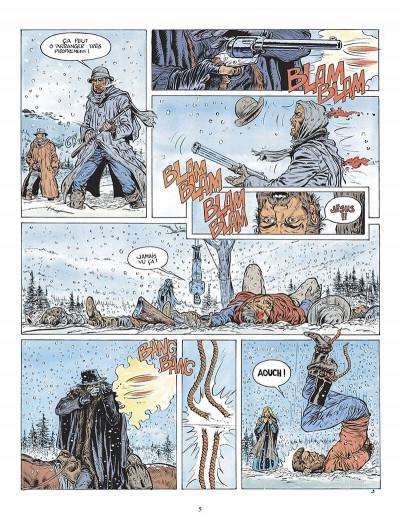 Page 6 durango tome 1 - les chiens meurent en hiver