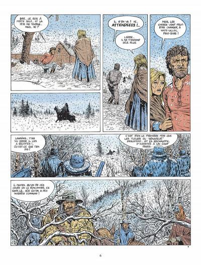 Page 7 durango tome 1 - les chiens meurent en hiver