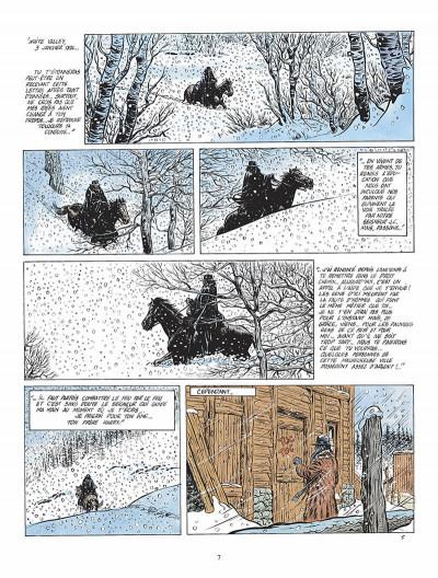 Page 8 durango tome 1 - les chiens meurent en hiver