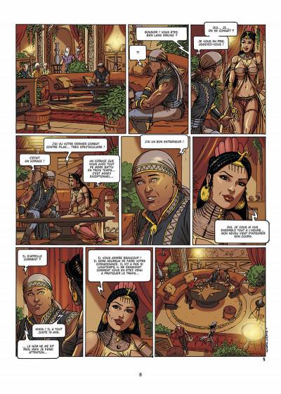 Page 9 lans sirling tome 2 - sur les rives du nako