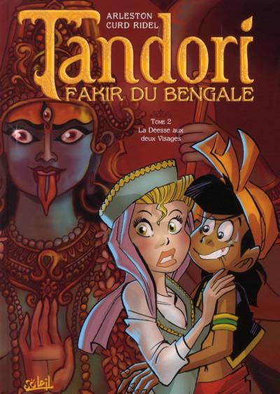 Couverture tandori tome 2 - la déesse aux deux visages