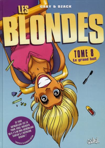 image de les blondes tome 8 - le grand huit