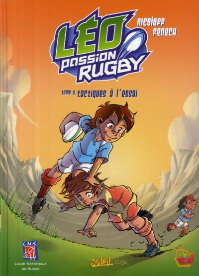 image de léo, passion rugby tome 2 - tactiques à l'essai