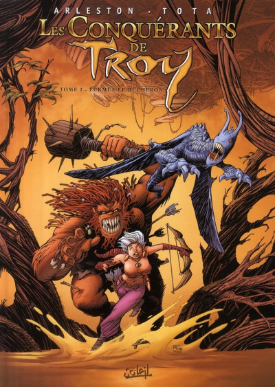 Couverture Les conquérants de Troy tome 2