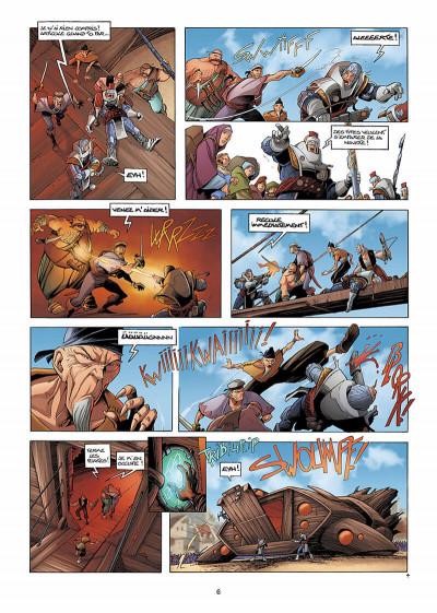 Page 7 Les conquérants de Troy tome 2