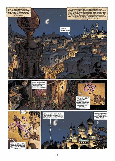 Page 4 sinbad tome 1 - le cratère d'alexandrie