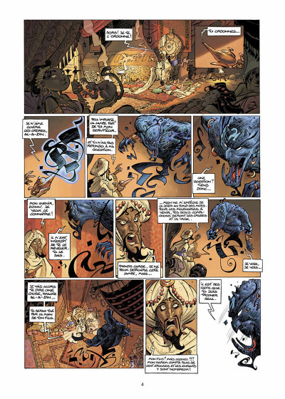 Page 5 sinbad tome 1 - le cratère d'alexandrie