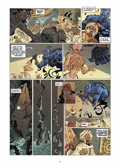 Page 8 sinbad tome 1 - le cratère d'alexandrie