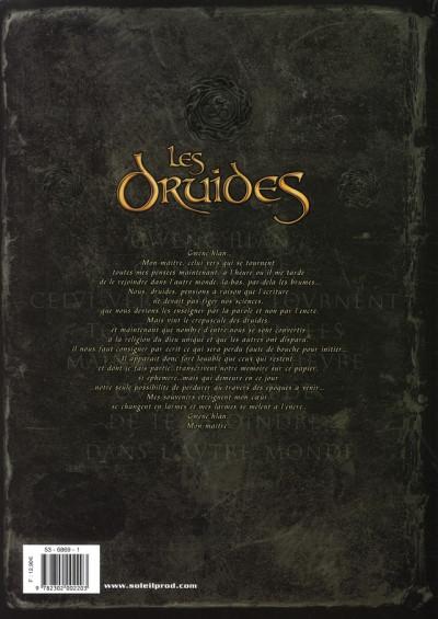 Dos les druides tome 4 - la ronde des géants