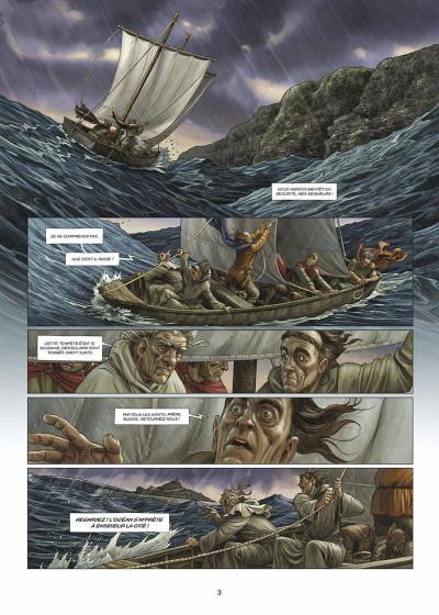 Page 4 les druides tome 4 - la ronde des géants