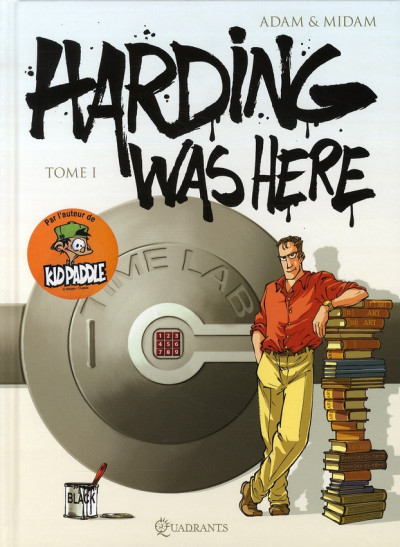 Couverture harding was here tome 1