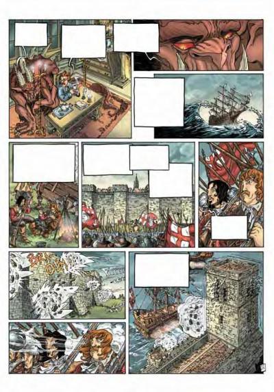 Page 3 le dieu des cendres tome 1 - luchtigern