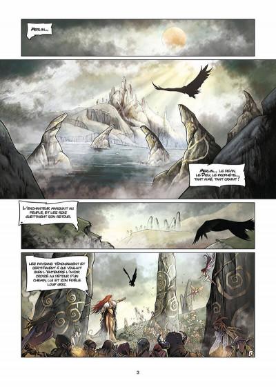 Page 4 lancelot tome 1 - claudas des terres désertes